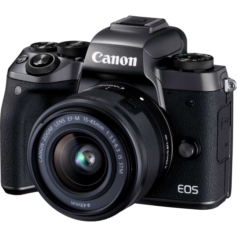 EOS M5 + EF-M 15-45mm