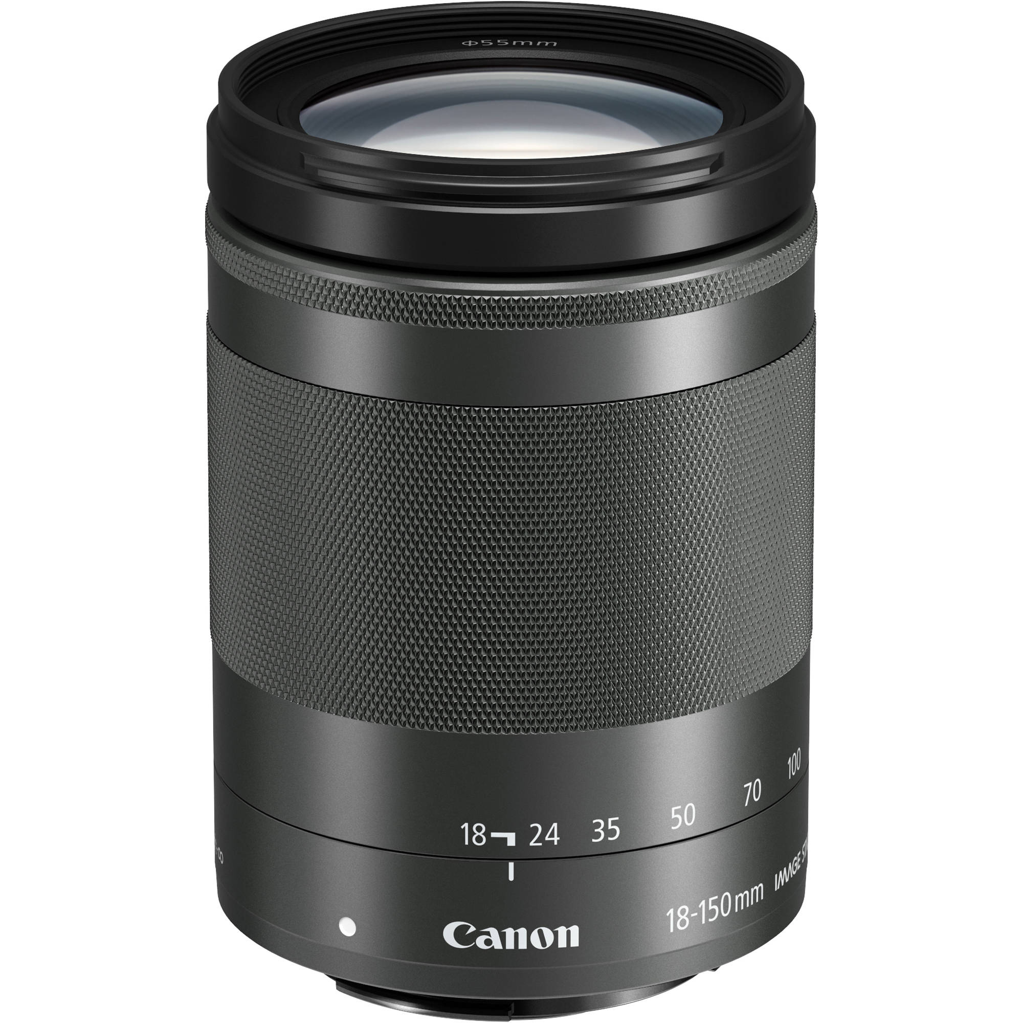 EF-M 18-150mm f/3.5-6.3 IS STM - black