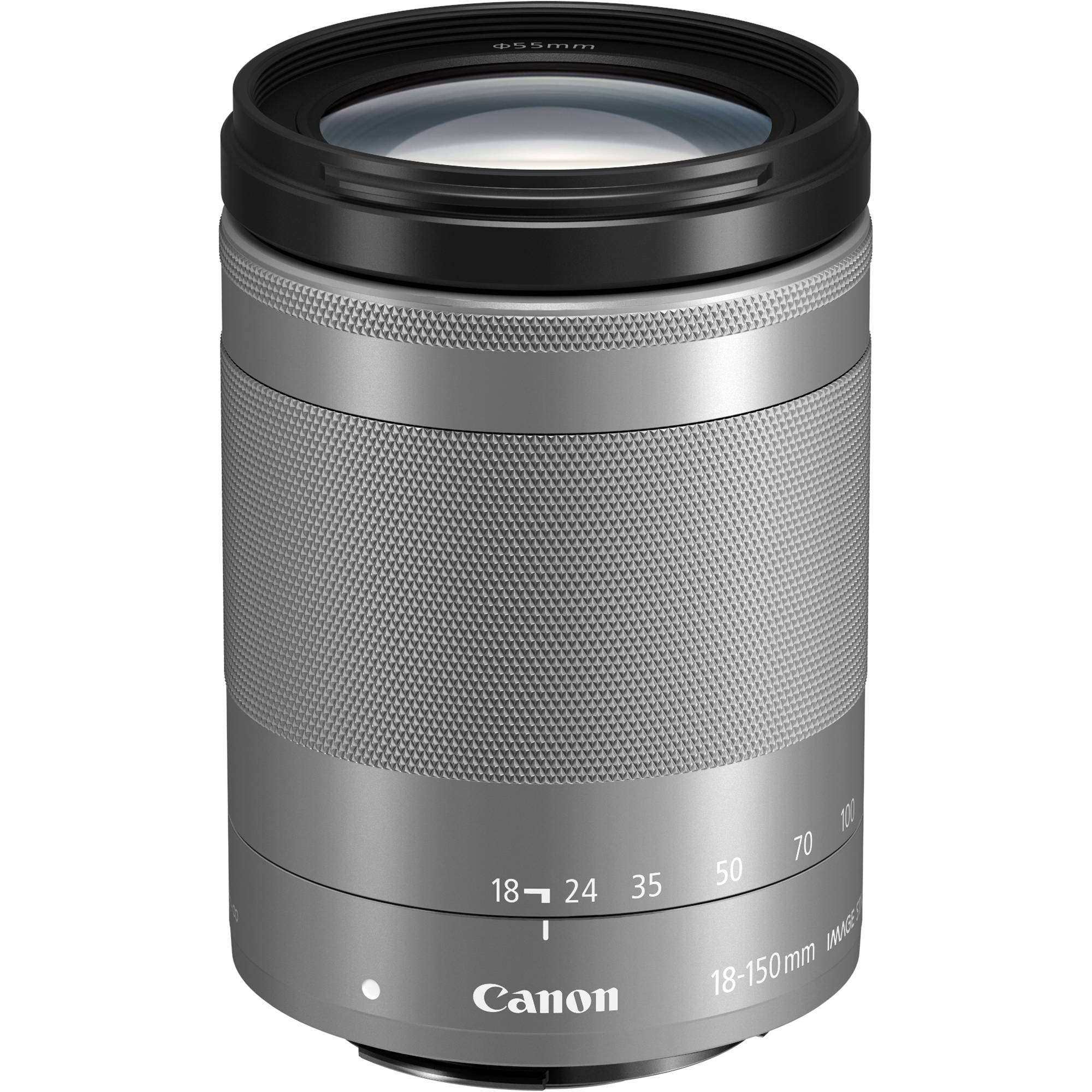 EF-M 18-150mm f/3.5-6.3 IS STM - silver