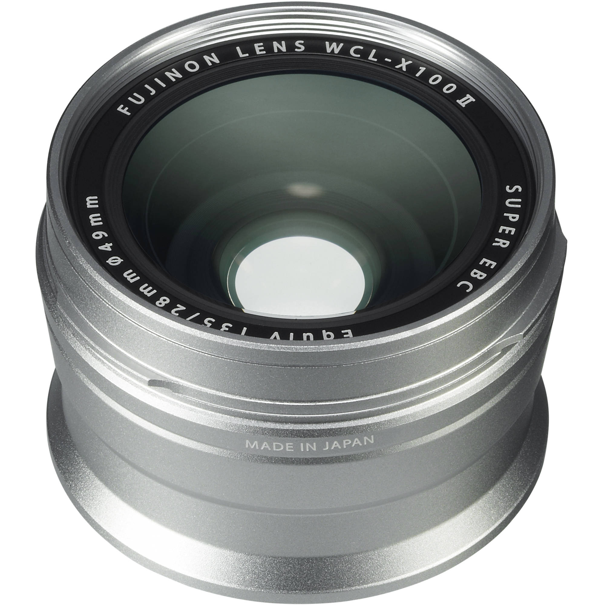 WCL-X100 II Wide Conversion Lens Silver