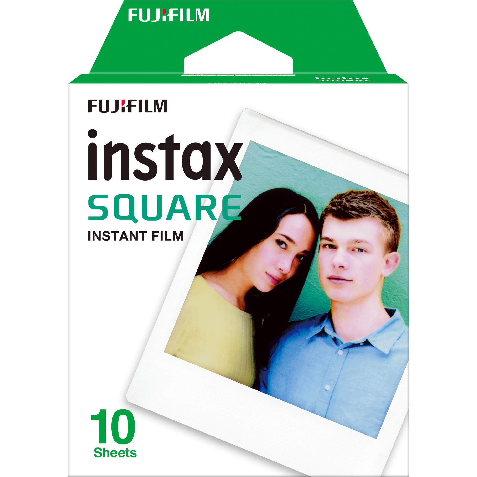 INSTAX SQUARE FILM 10 FOGLI