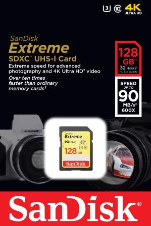 Sandisk SD  EXTREME SD 128GB