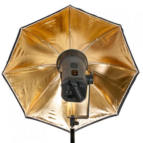 """Ombrello da studio 40"""" / 102cm - oro"""
