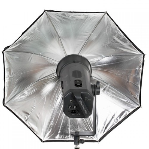 "Ombrello da studio 40"" / 102 cm - argento"