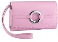 Borsa in pelle LC-M1, rosa