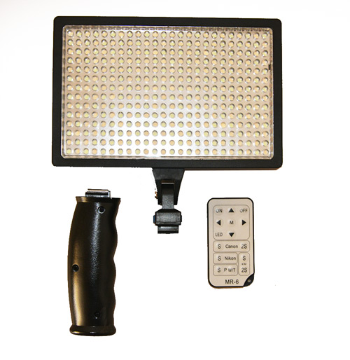 SWISSPRO ILLUMINATORE A LED IS-L336A VIDEO LIGHT