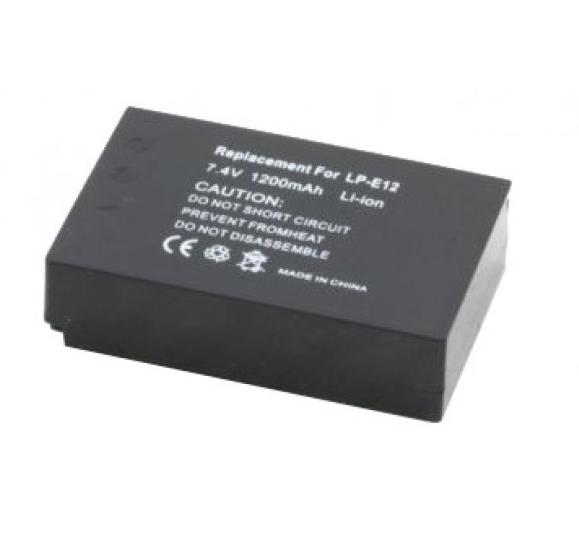batteria PER CANON LP-E12