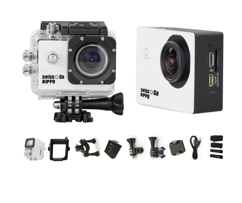 SWISS GO SG-1.8W 12MP WiFi FULL HD ACTION CAMERA BIANCA