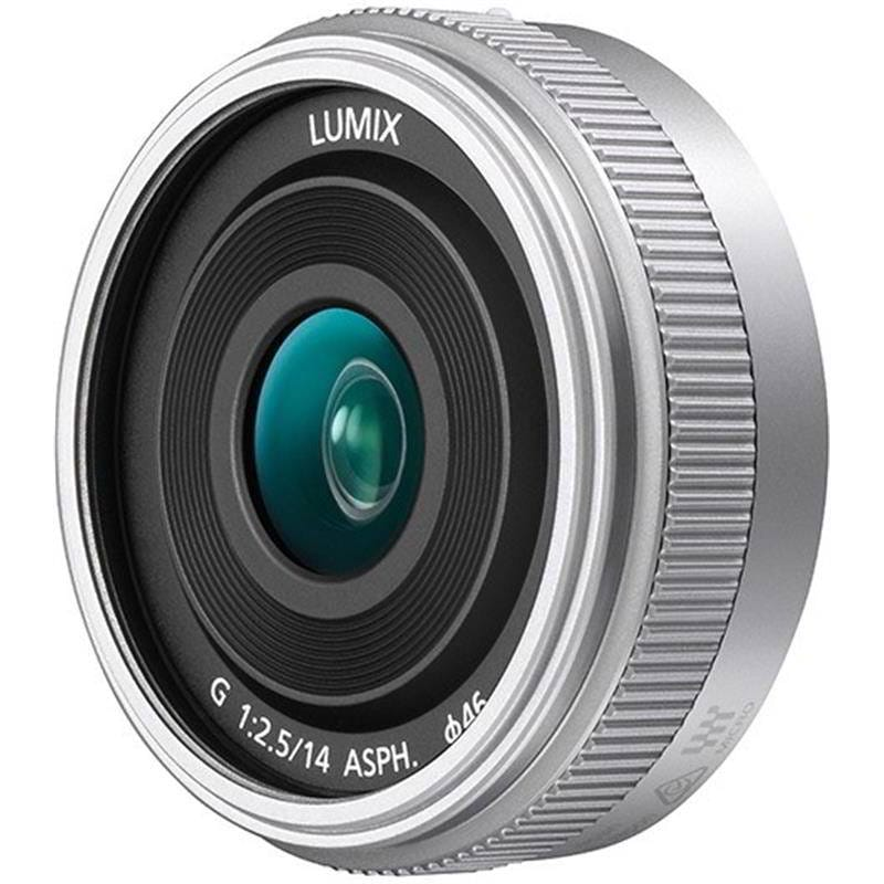 LUMIX G PANCAKE 14mm f/2.5 SILVER
