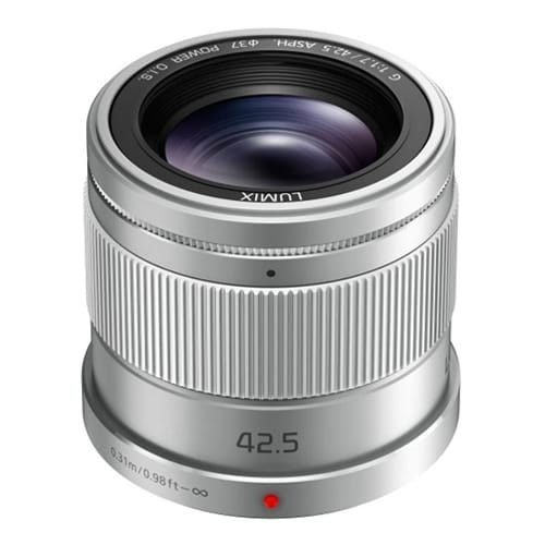 LUMIX G 42.5mm f/1.7 ASPH/Power O.I.S. SILVER