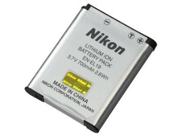 EN-EL19 Batteria per Coolpix S2500,S3100,S4100