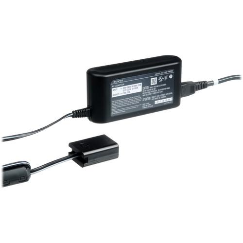 AC-PW20 Alimentatore da rete 110-220v per fotocamere E-mount compatibili con batteria NP-FW50