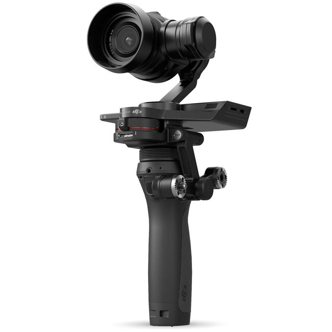 DJI OSMO RAW COMBO (Zenmuse X5R), Impugnatura stabilizzata con foto/videocamera