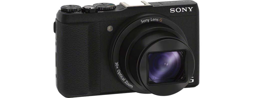 DSC-HX60 Black Fotocamera compatta con zoom ottico 30x