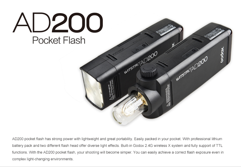 GODOX WISTRO AD-200
