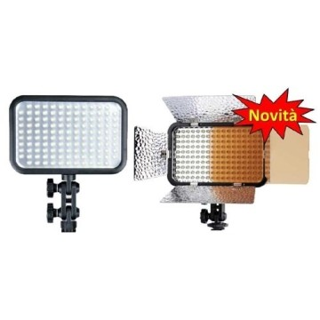 GODOX ILLUMINATORE LED - LD-170 LUX>1100 A 1 M. - CRI>78 CON ALETTE
