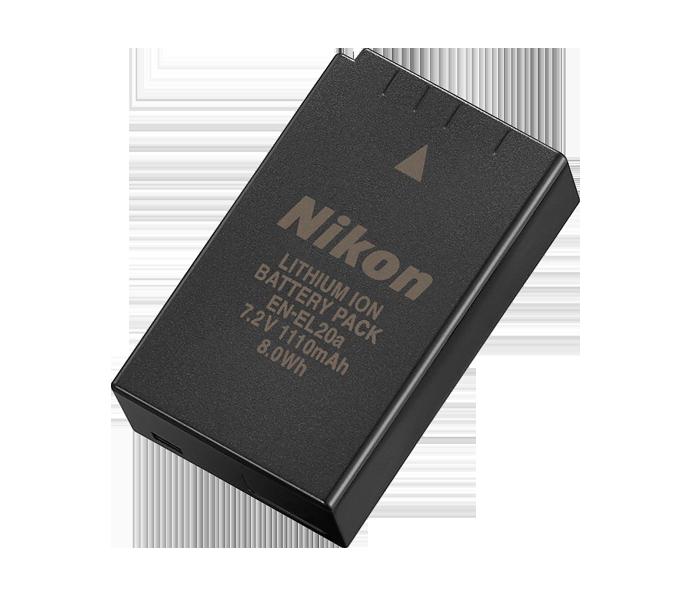 EN-EL20 Batteria ricaricabile Li-ion x Nikon 1 J1