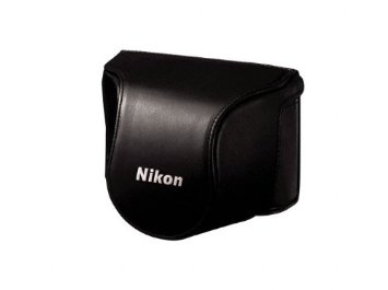 CB-N2000SC Brown set custodia x Nikon 1 J1+10-30mm