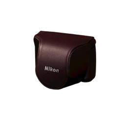 CB-N2000SH Brown set custodia x Nikon 1 J1+10mm