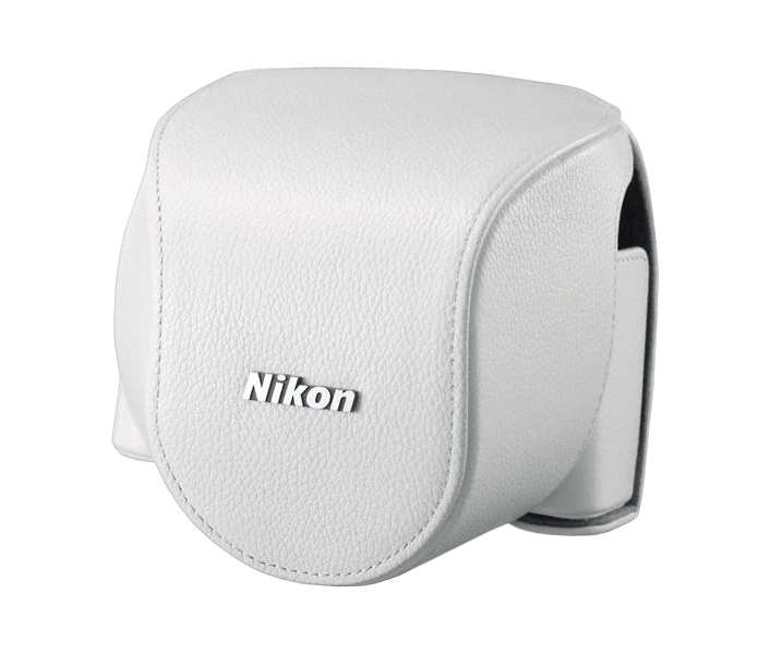CB-N4000 White custodia inferiore Nikon 1 V2