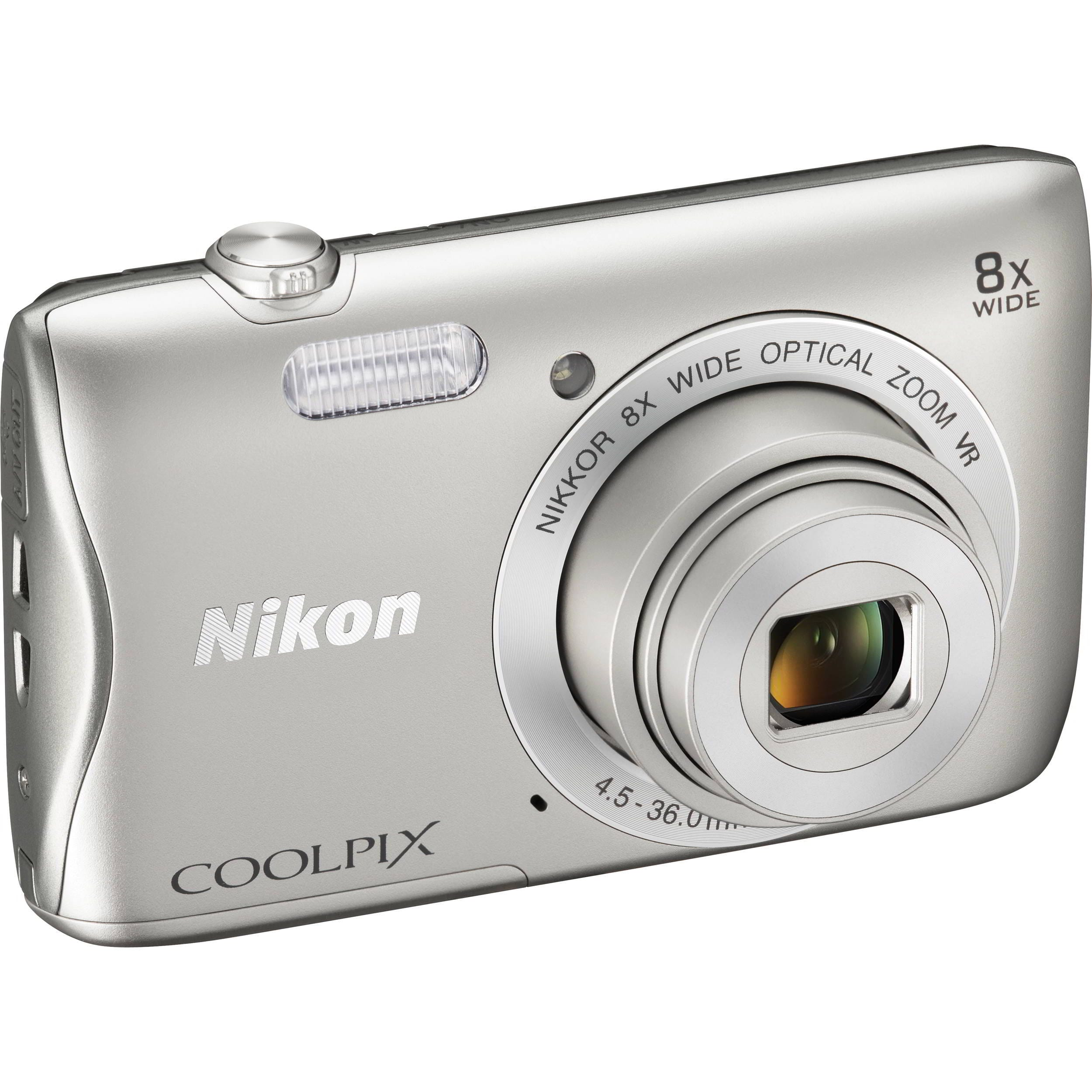 Coolpix S3700 Silver