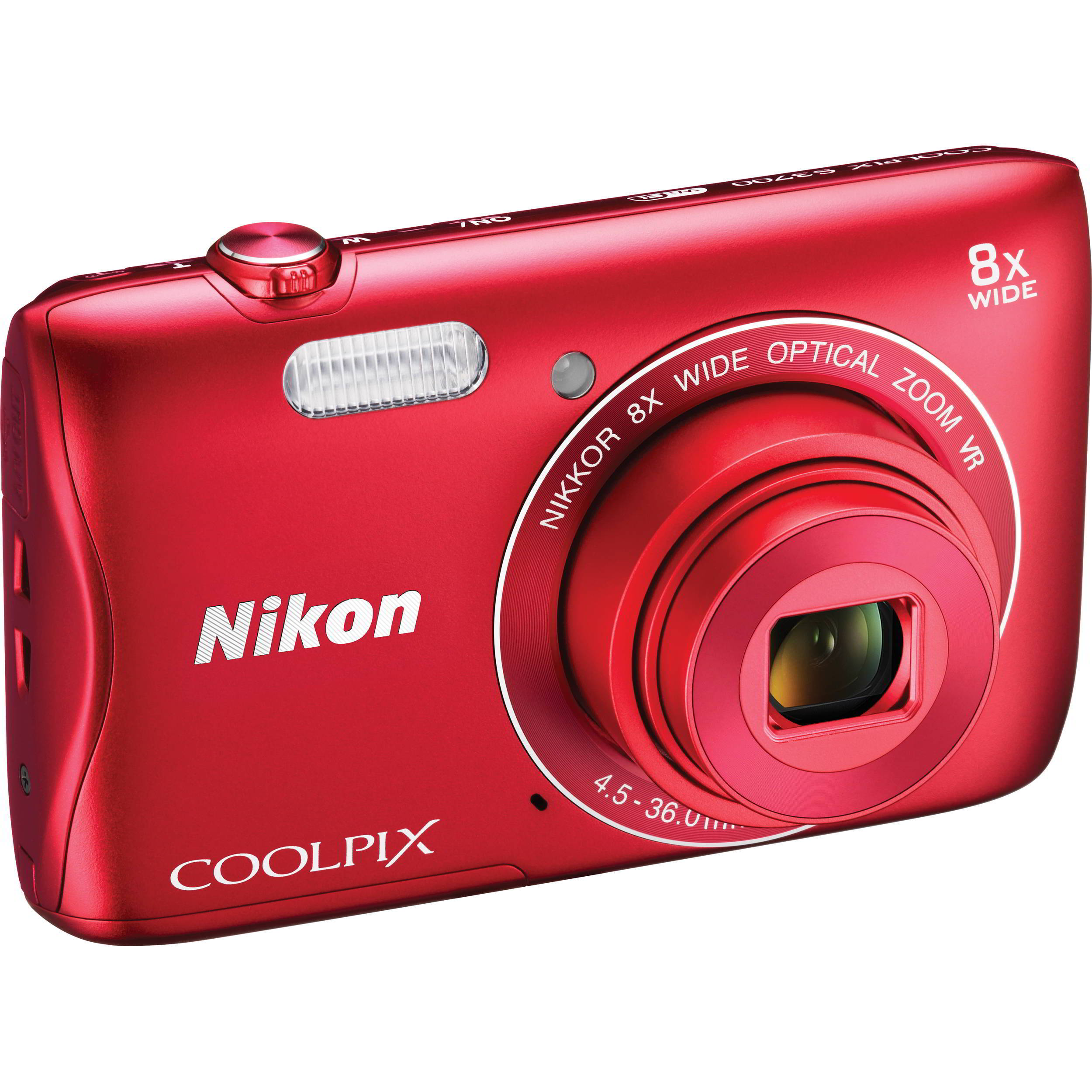 Coolpix S3700 Red