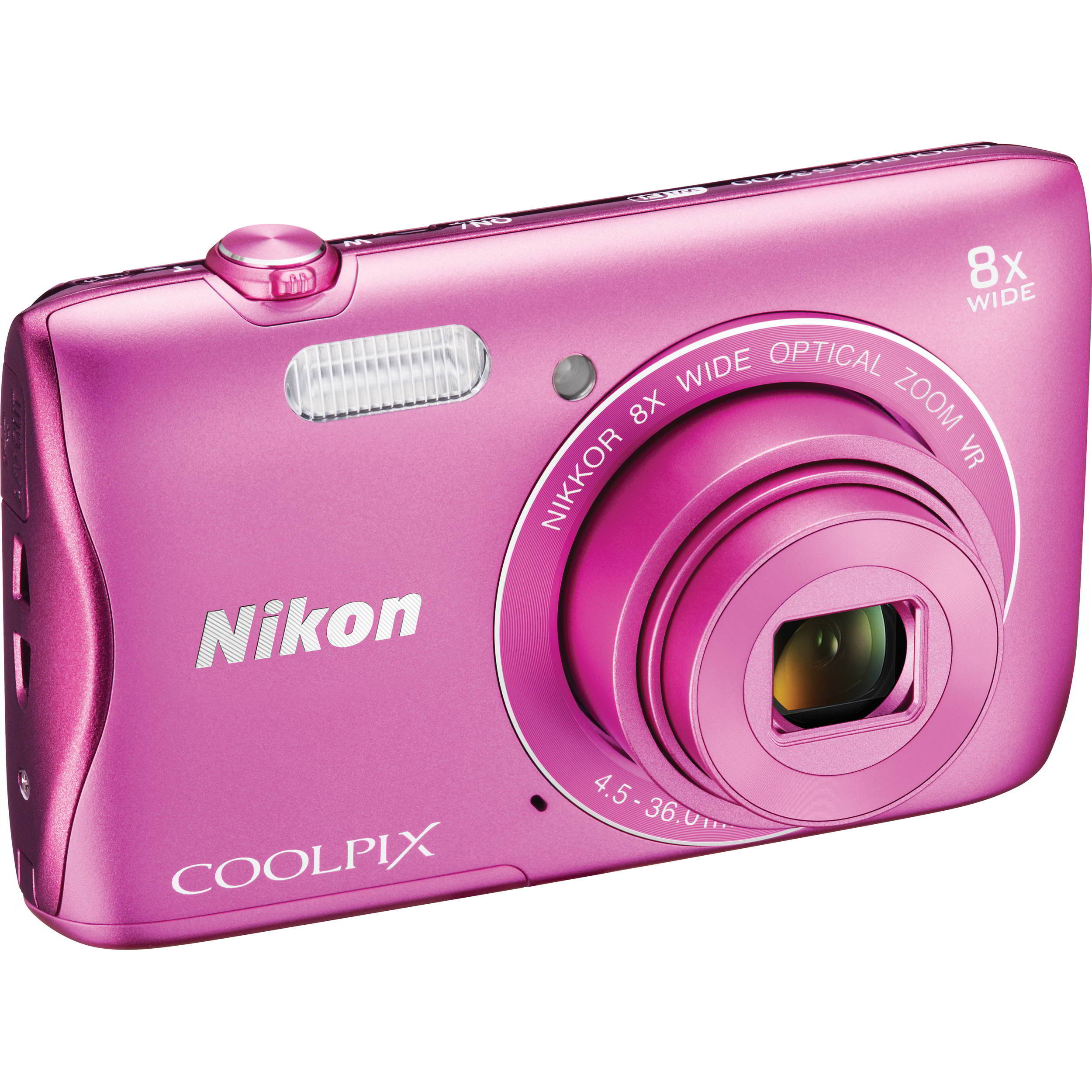 Coolpix S3700 Pink