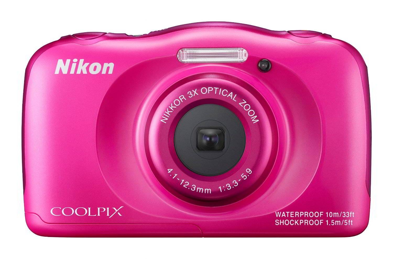 Coolpix S33 Pink