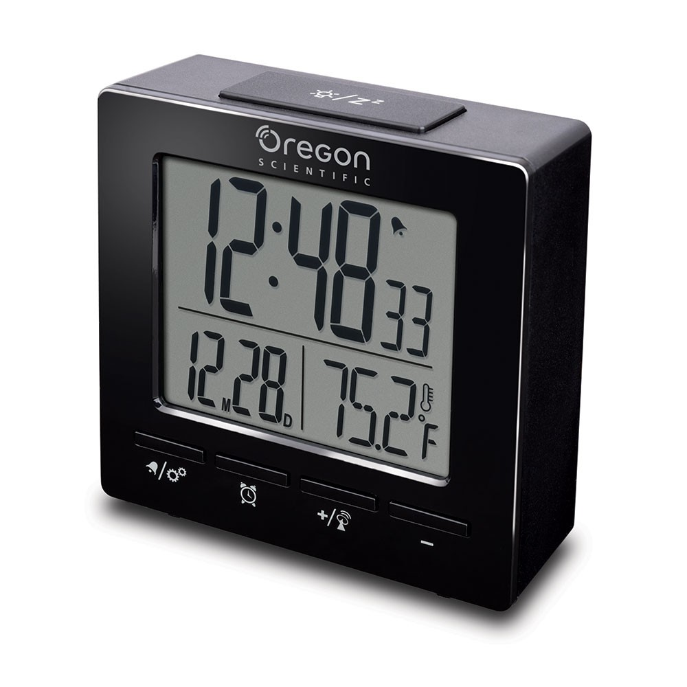 NEW TRAVEL CLOCK TOTAL BLACK
