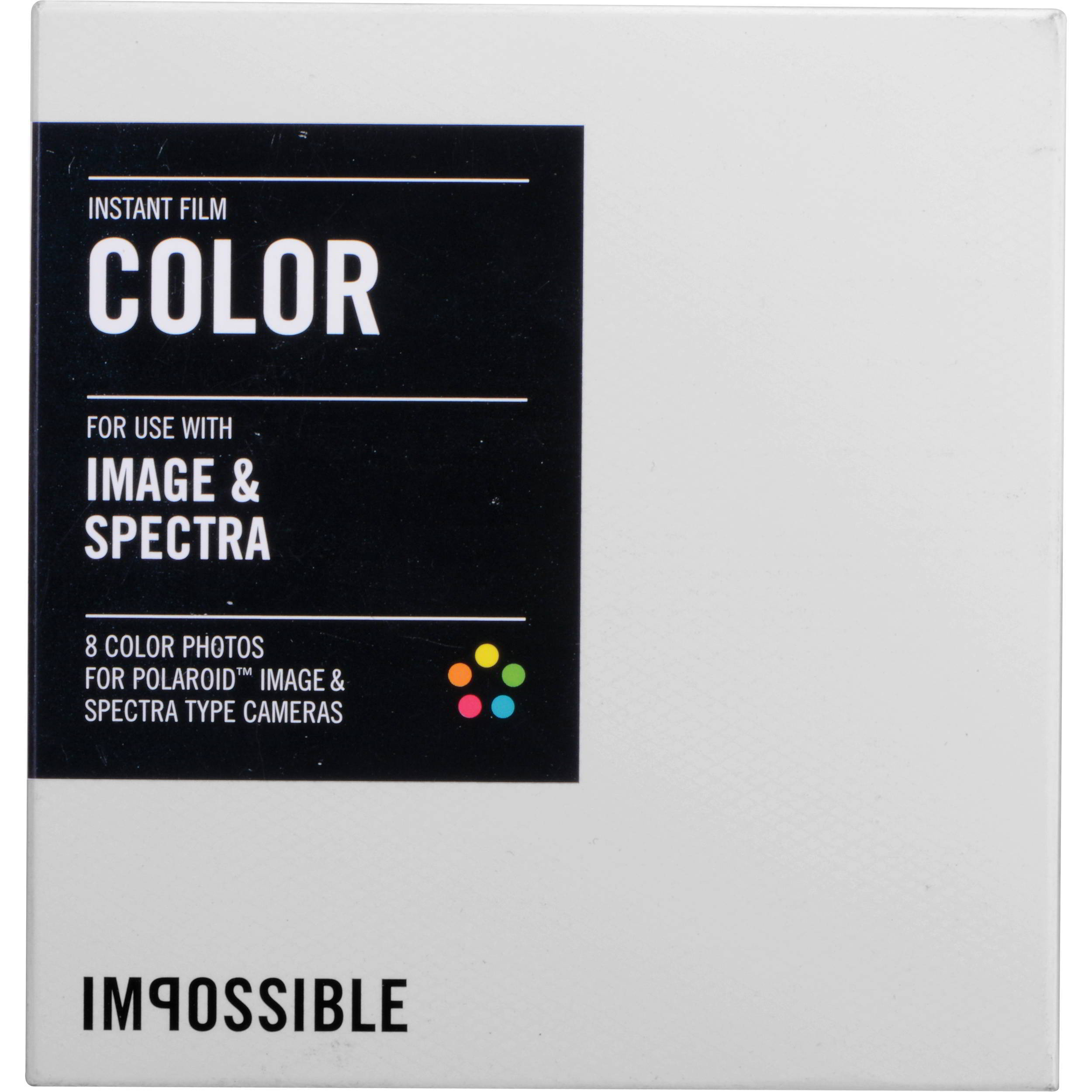 INSTANT COLOR FILM FOR IMAGES/SPECTRA CAMERAS