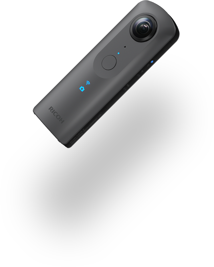 RICOH THETA V (metallic gray)