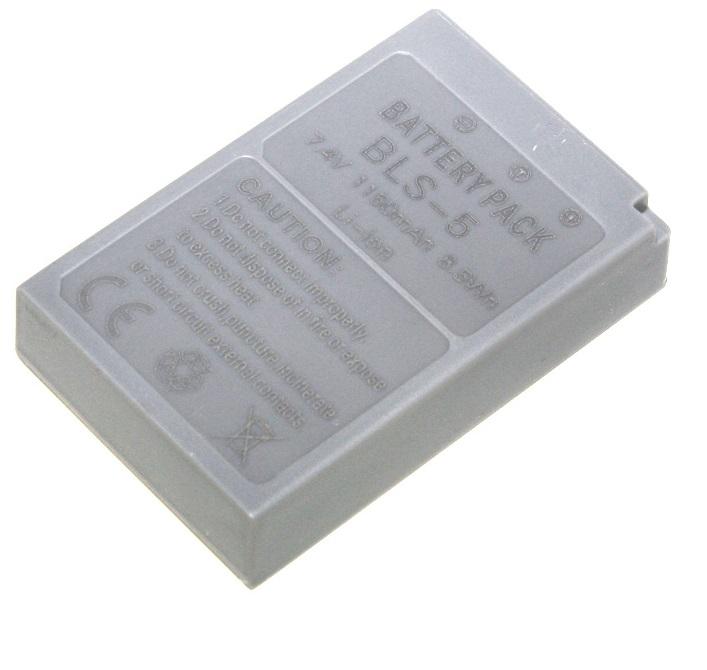 ROWI Batteria di ricambio Li-Ion Olympus BL-S5