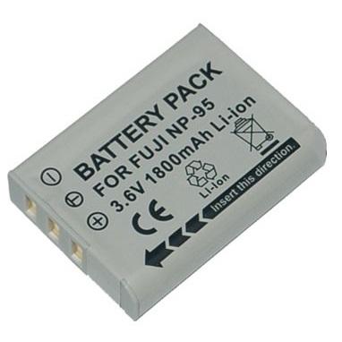ROWI Batteria di ricambio Li-Ion FUJI NP-95