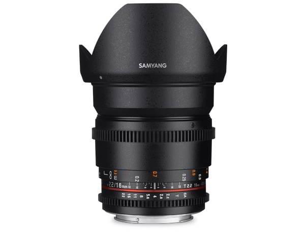 16mm T2.2 VDSLR II Fuji X