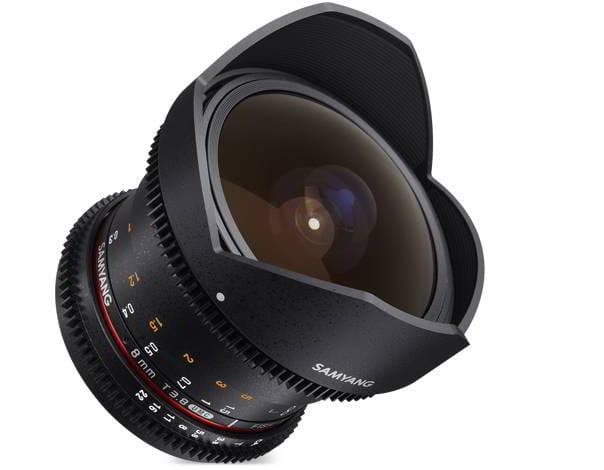 8mm T3.8 CSII VDSLR II Fuji X