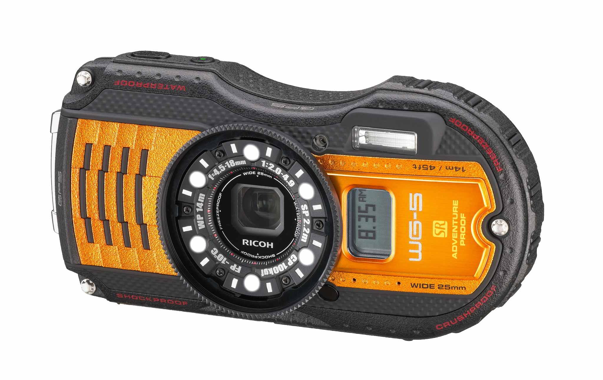 WG-5 GPS ORANGE