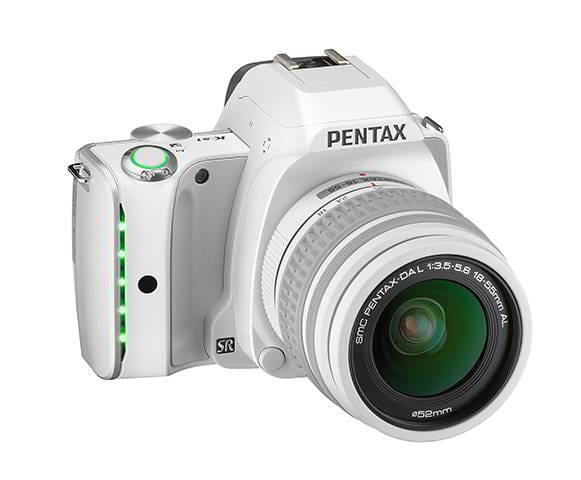 K-S1 WHITE + DAL 18-55 mm