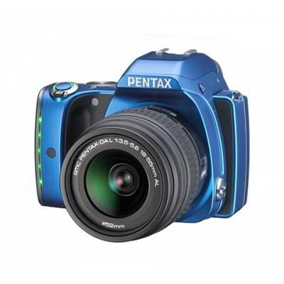 K-S1 BLUE + DAL 18-55 mm + DAL 50-200 mm