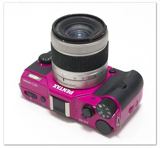 Q10 - Cherry Pink/Black + 5-15mm f/2.8-4.5