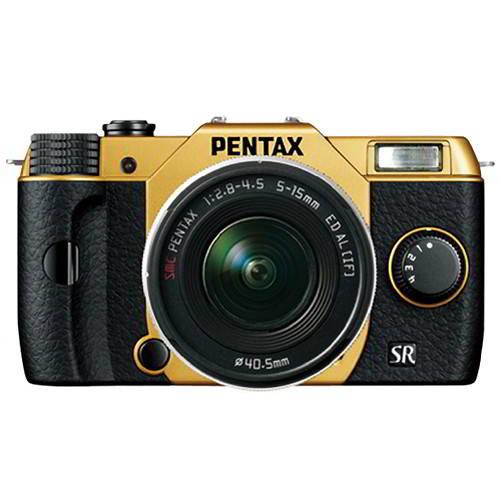 Q10 - Gold/Black + 5-15mm f/2.8-4.5