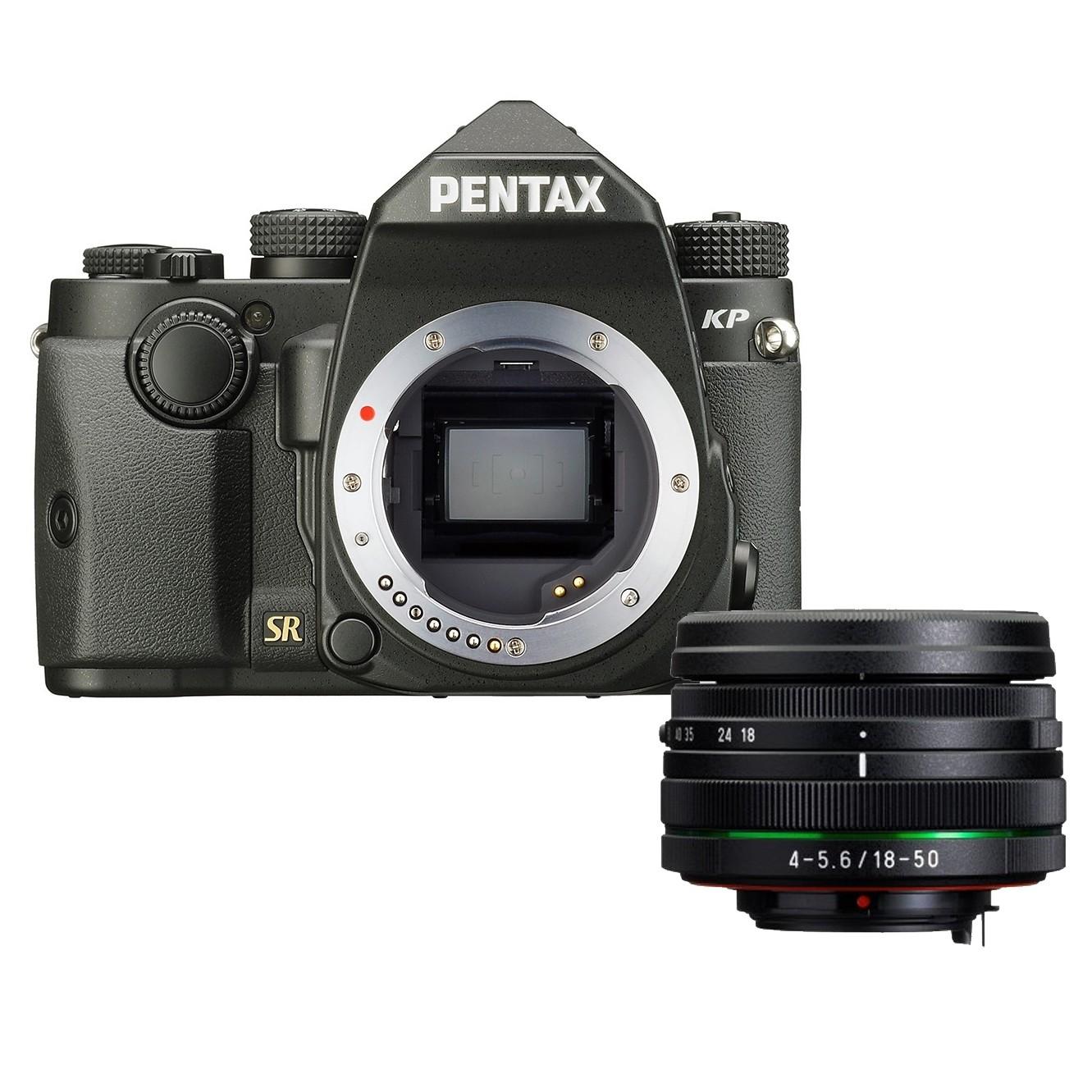 KP BLACK + 18-50mm f/4-5.6