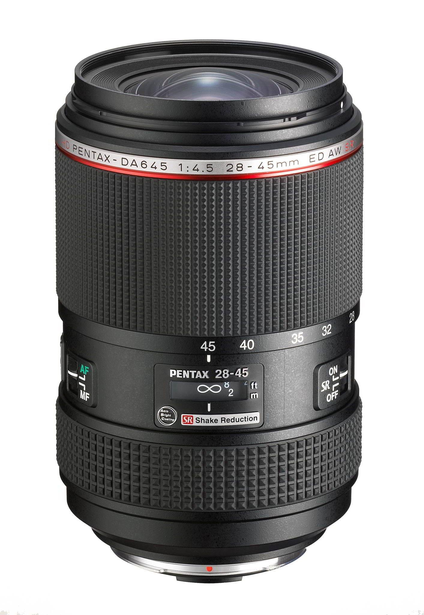 HD DA 28-45mm / 4,5 ED AW SR