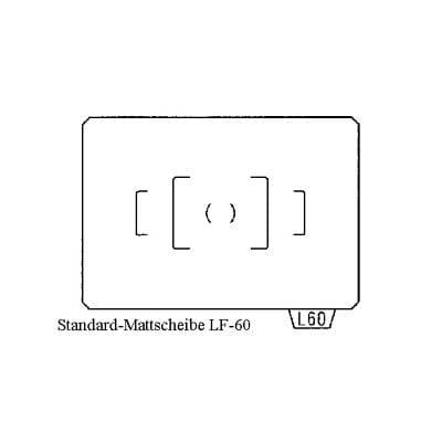 Vetrino di messa a fuoco standard Matte-Spot LF-60