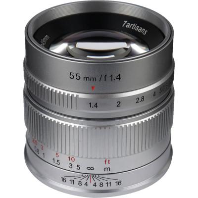 55mm f/1.4 x Fuji SILVER