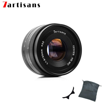 7ARTISANS 50mm f/1.8 x Sony E