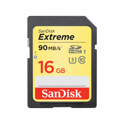 Secure Digital Extreme Pro 16GB XC 90MB/S