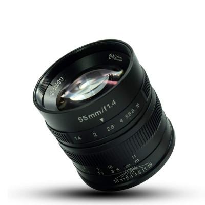 55mm f/1.4 x Canon EOS M