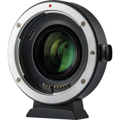 Adattatore Autofocus Speedbooster EF-FX2 Canon EF su Fuji X (0,71X)