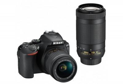 D5600 + AF-P 18-55 VR + AF-P 70-300 VR + SD 8GB Lexar