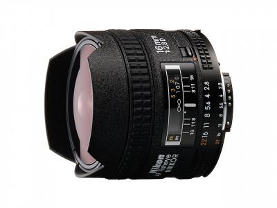 16mm f/2.8 D AF FISHEYE NIKKOR